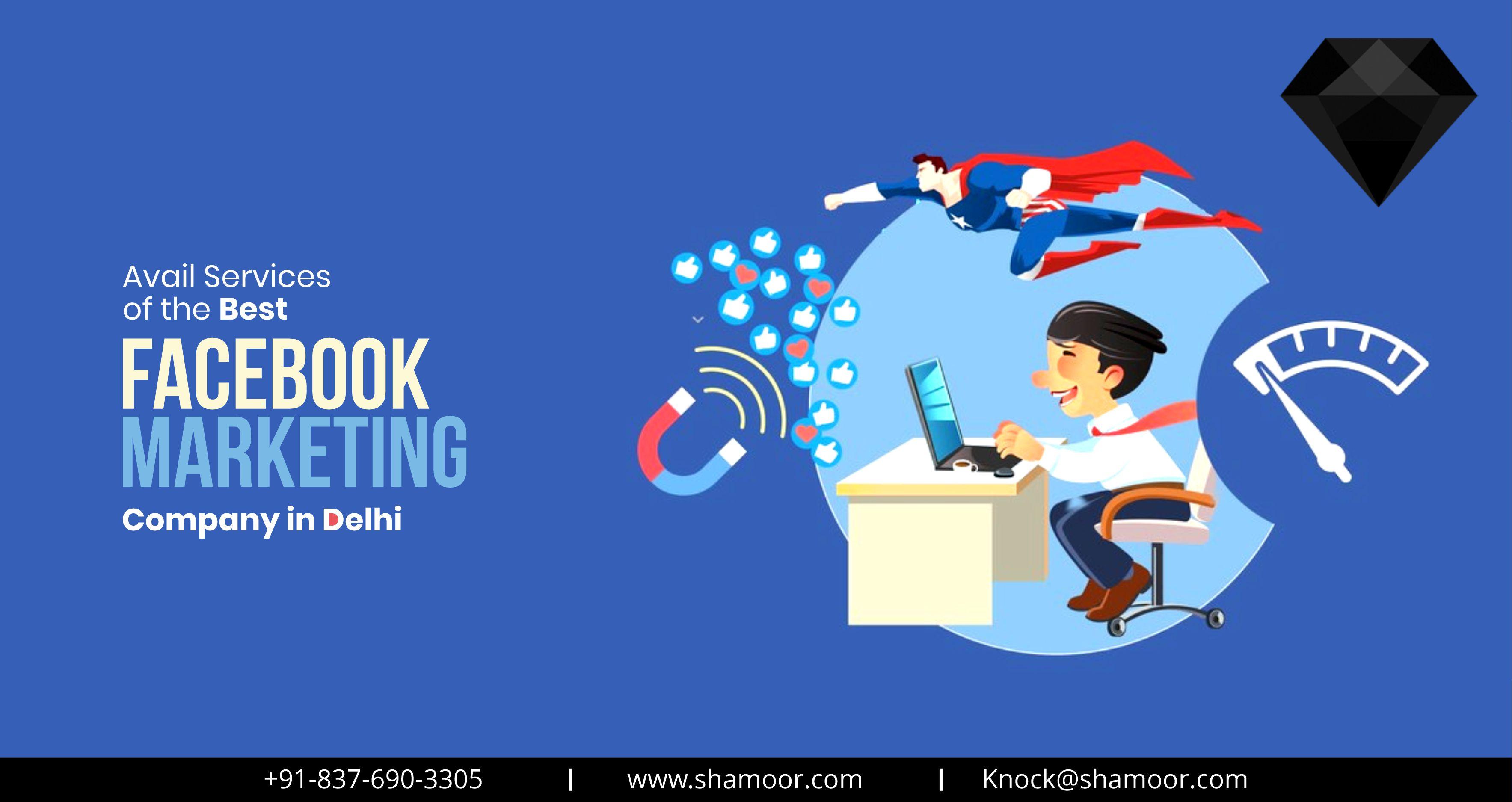 Facebook marketing agency Delhi